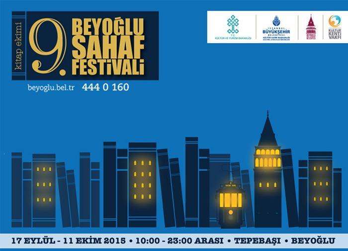 Beyoğlu Sahaflar Festivali Kitapseverleri Bekliyor